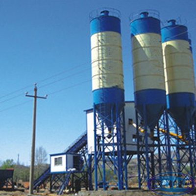 mixed concrete mix plant