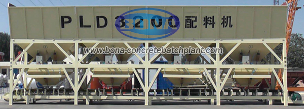PLD3200 Concrete batching plant