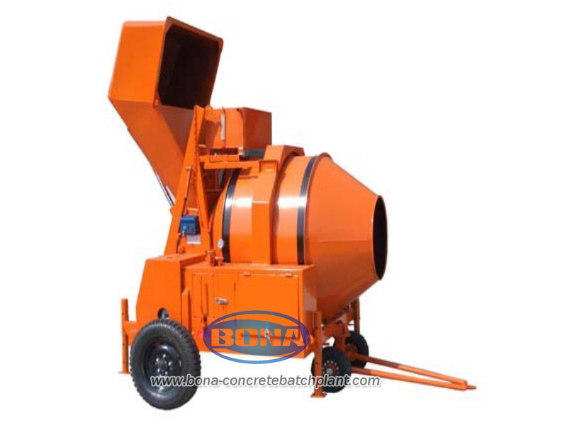 JZR350 Diesel Engine Concrete Mixer