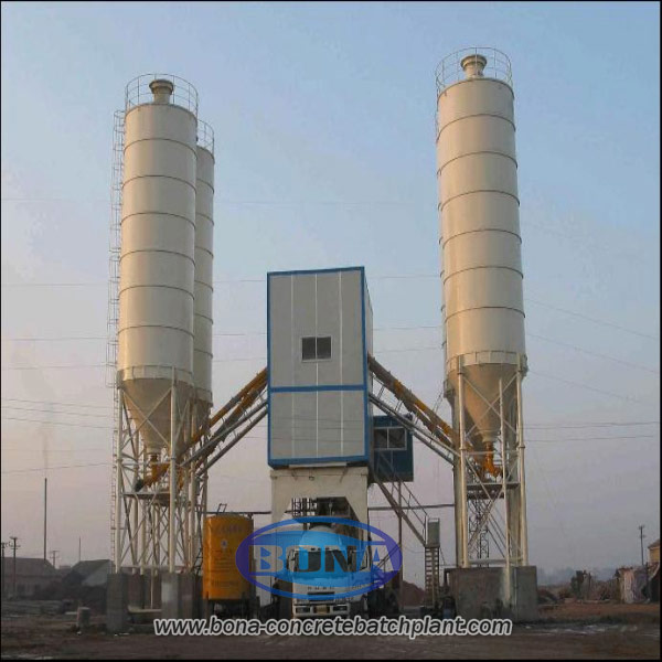 mini concrete mixing plant
