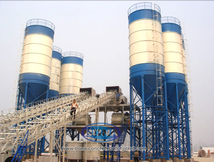 HZS150 Concrete Batching Plants