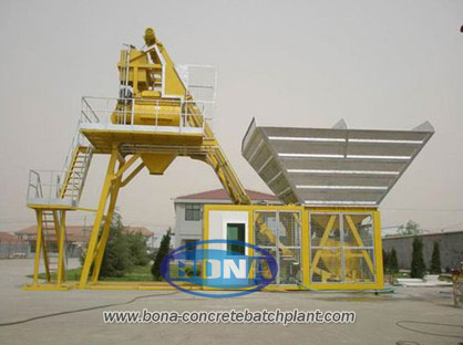 YHZS40 Mobile Concrete Batching Plant