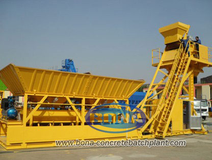 YHZS80 Mobile Concrete Batching Plant